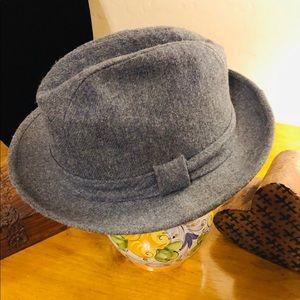 Wool Fedora Gangster Hat